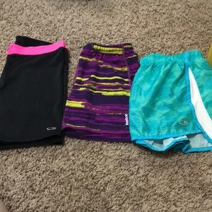 3 pair shorts for girls